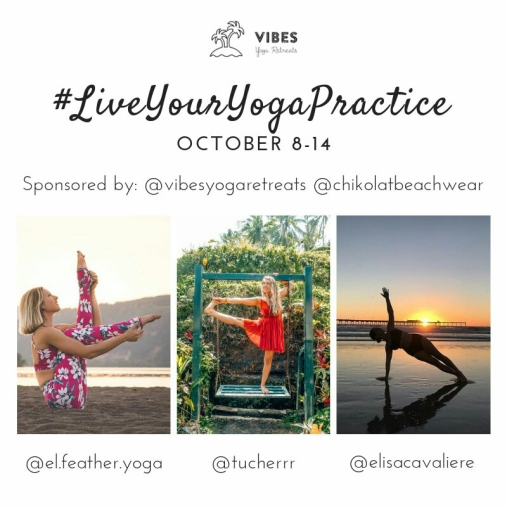#LiveYourYogaPractice Yoga Challenge Layout - Vibes Yoga Retreats